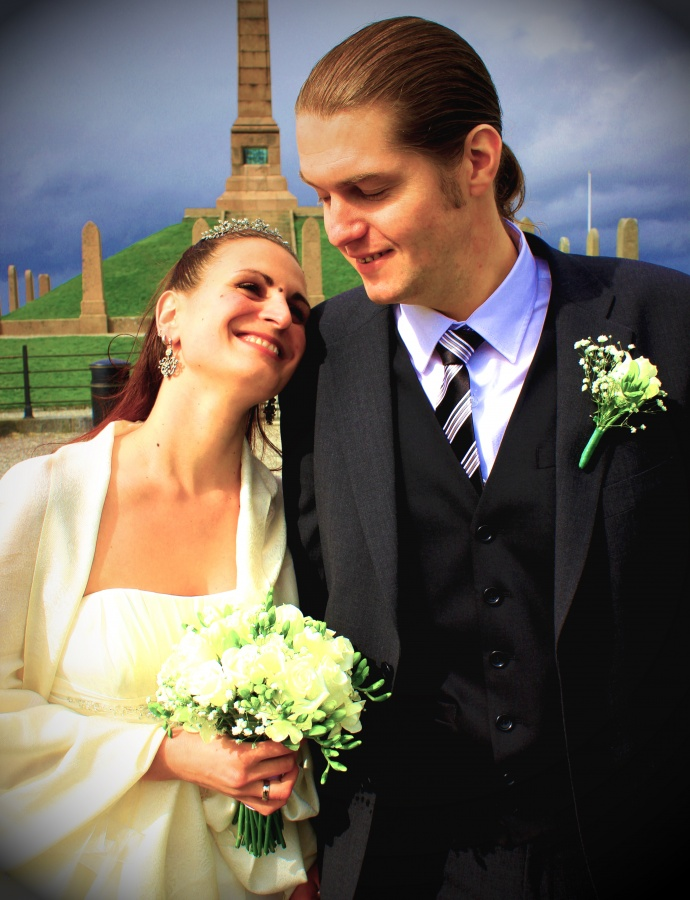 Mariana Ivanova and Emil Lund got married today 12.04.2012