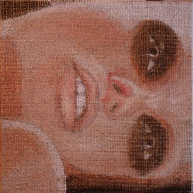 Miss Sideways 2012 (10x10cm)