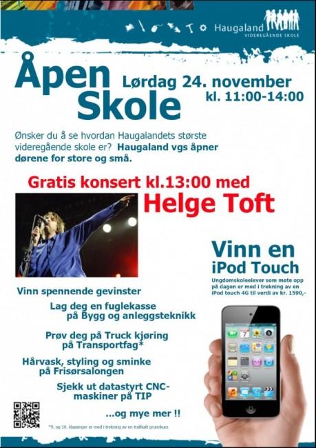 Åpen Skole - 24.11.12 - Haugaland videregående skole