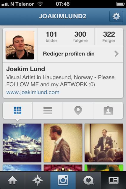 Instagram - Joakim Lund