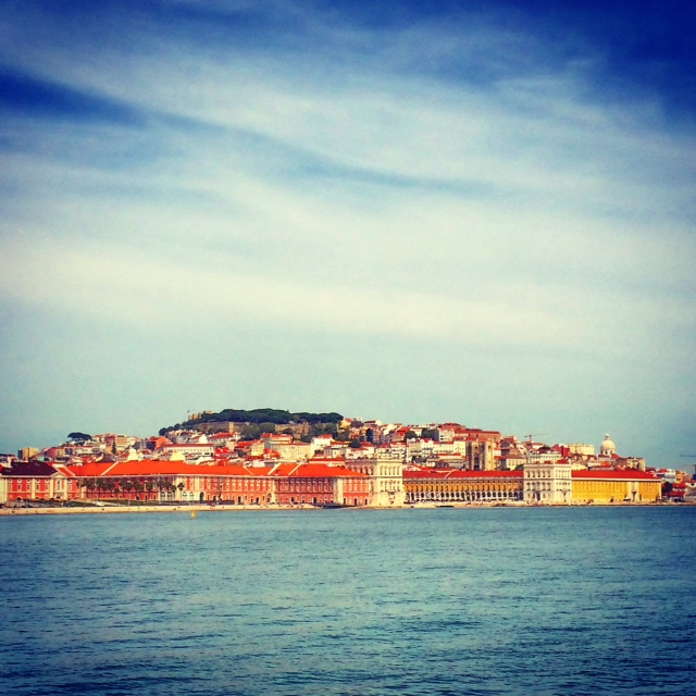 Lisboa from The Sea by Joakim Lund 2015