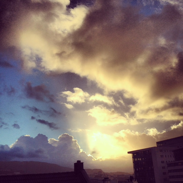 Clouds XVII by Joakim Lund