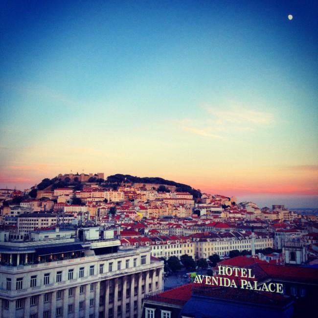 Lisboa - O Castelo Jorge