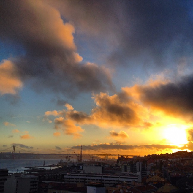 Lisboa - O Rio Tejo - Sunset by Joakim Lund
