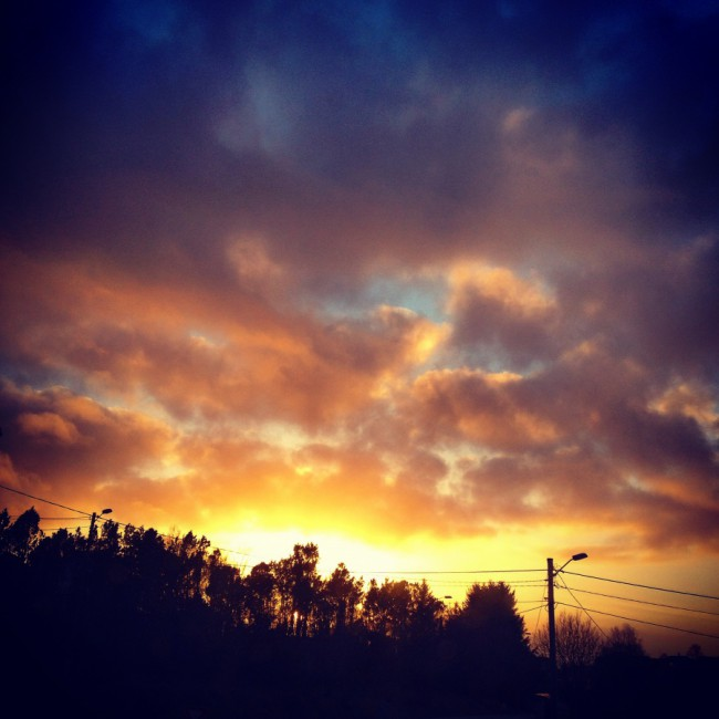 Sunset by Joakim Lund 2015