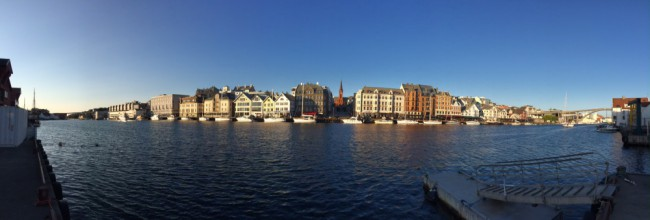 Panoramic Haugesund I by Joakim Lund 2015
