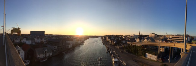 Panoramic Haugesund III by Joakim Lund 2015