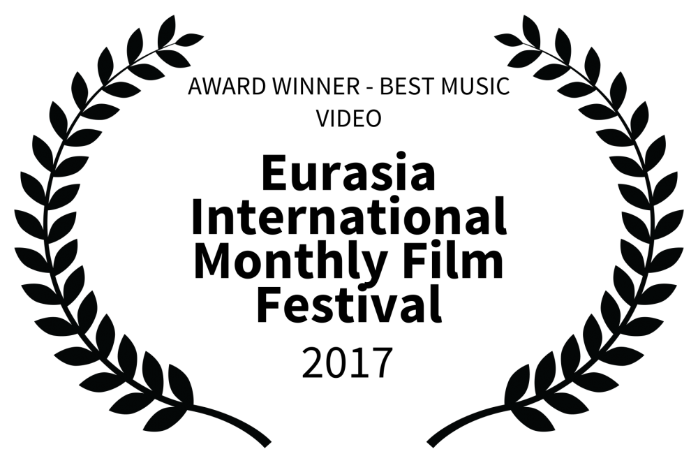 AWARD WINNER - BEST MUSIC VIDEO - Eurasia International Monthly Film Festival - 2017 - Joakim Lund