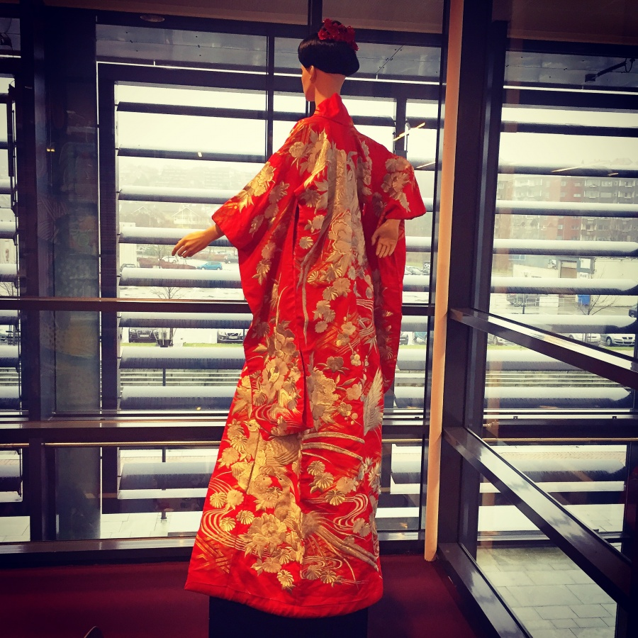 Den Japanske Trane - The Japanese Crane - Exhibition at Vågen Upper Secondary - 2017