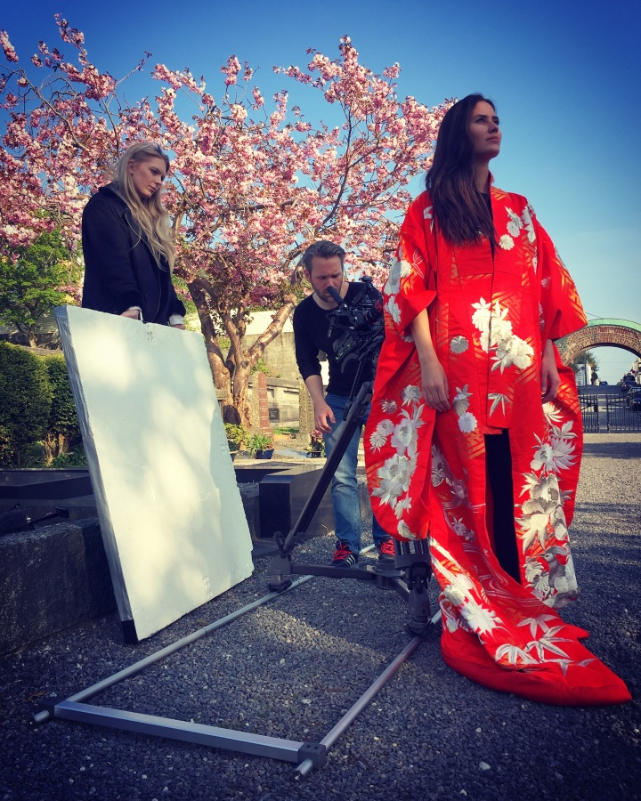 """Making of the Music Video - """"Waiting"""" - Joakim Lund together with Helge Kallevik, Nina Andrea Johansen and Actor Kine Marie Andersen Hillestad - May 2018"""