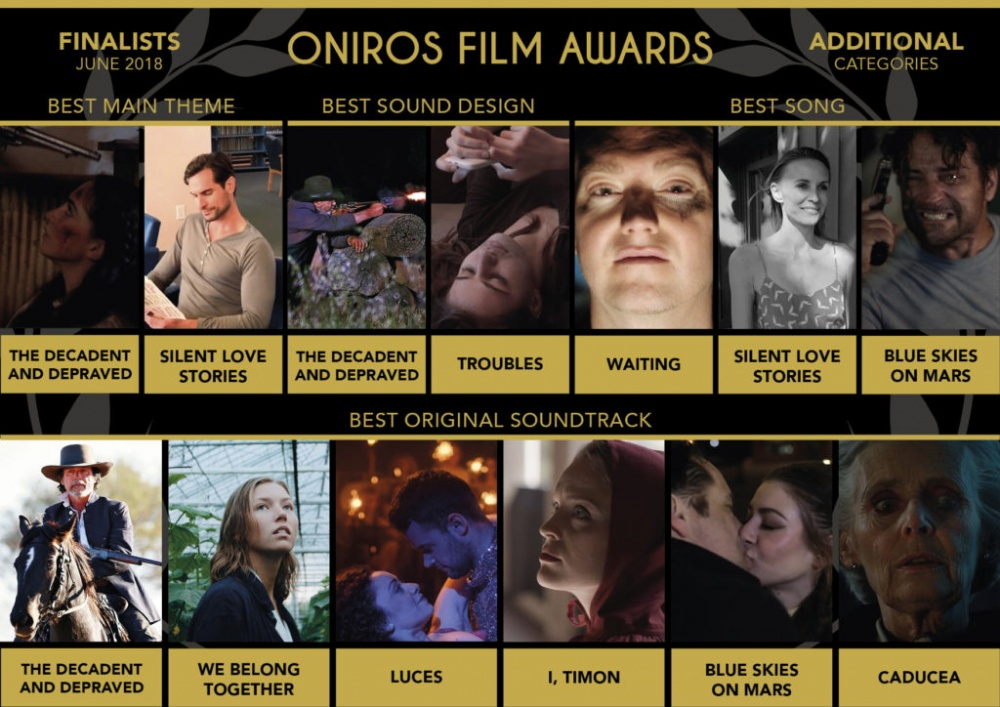 WAITING - FINALIST AT ONIROS FILM AWARDS - BEST SONG - 2018