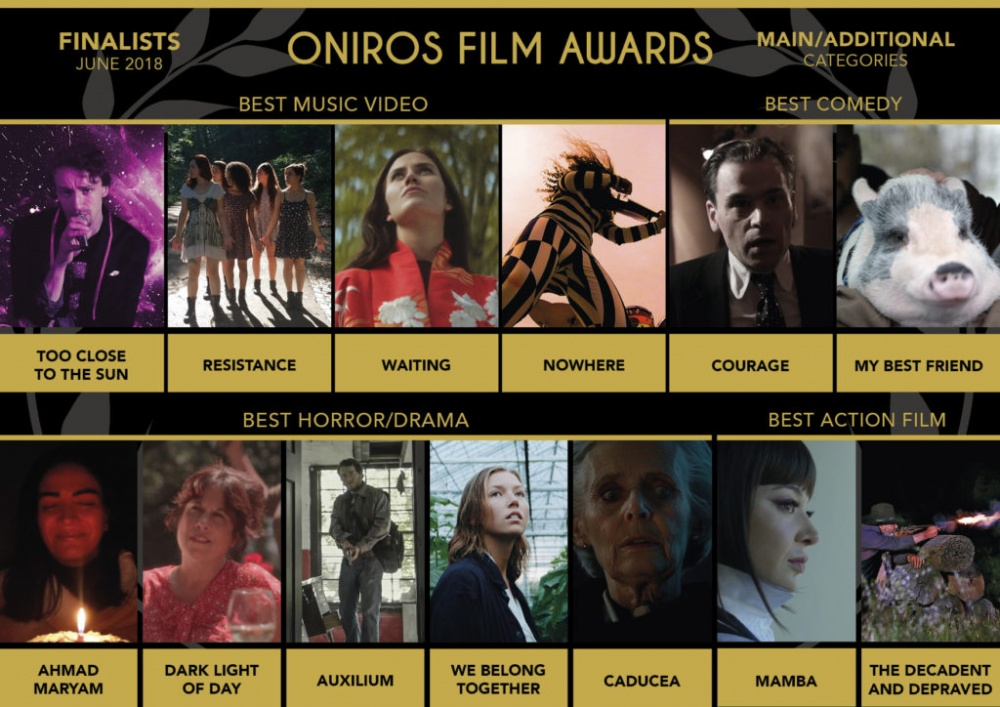 WAITING - FINALIST AT ONIROS FILM AWARDS - BEST MUSIC VIDEO - 2018