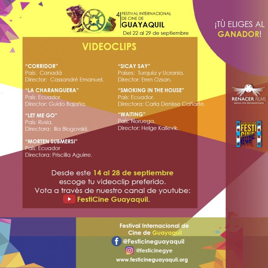 Festival Internacional de Cine de Guayaquil-Joakim Lund - Esperando 2018