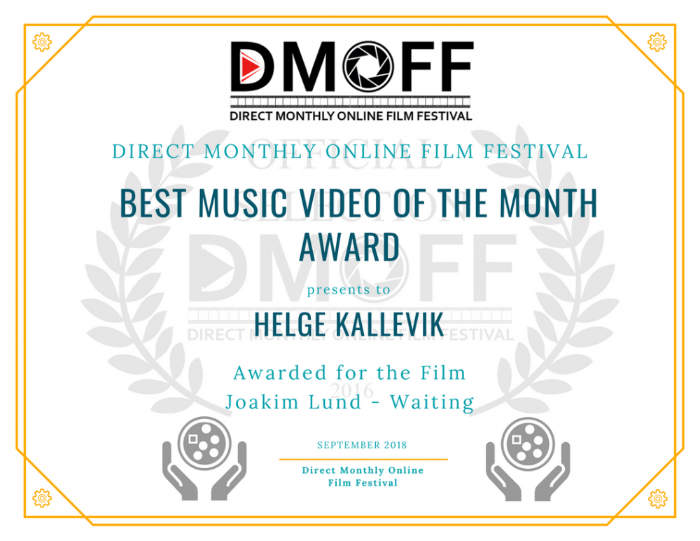 Joakim Lund - Love Falls Softly - BEST MUSIC VIDEO - DMOFF 2018