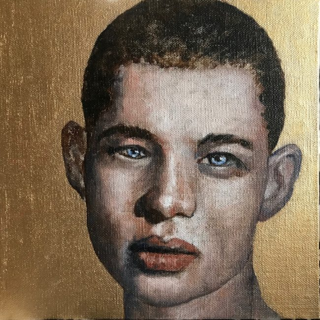ICONIC YOUTH II - 2019. Oil on canvas by Joakim Lund